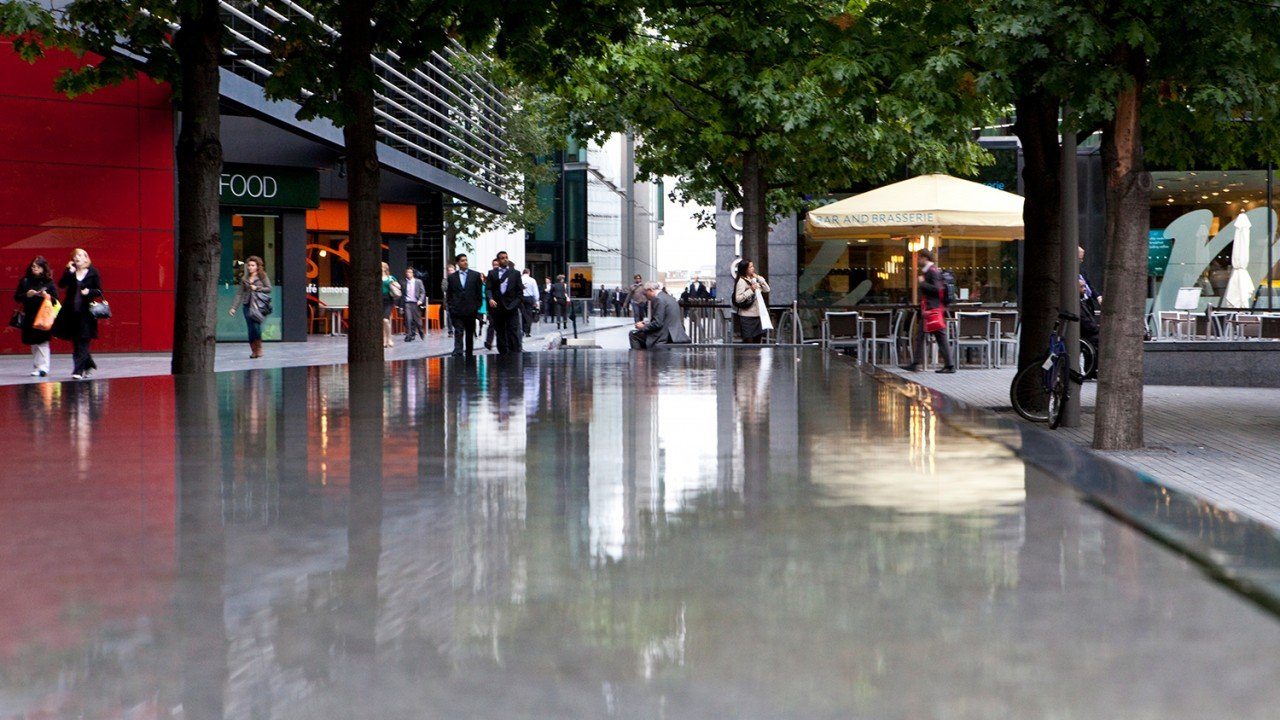 More London Water Features The Fountain Workshop