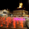The fountains at Stockton High Street by the Fountain Workshop