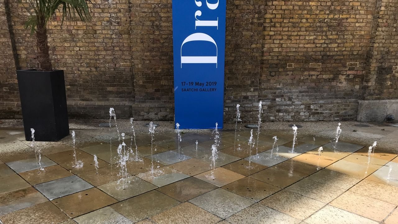 Water feature at Duke of York Square by The Fountain Workshop