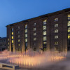 Granary Square fountains, King's Cross