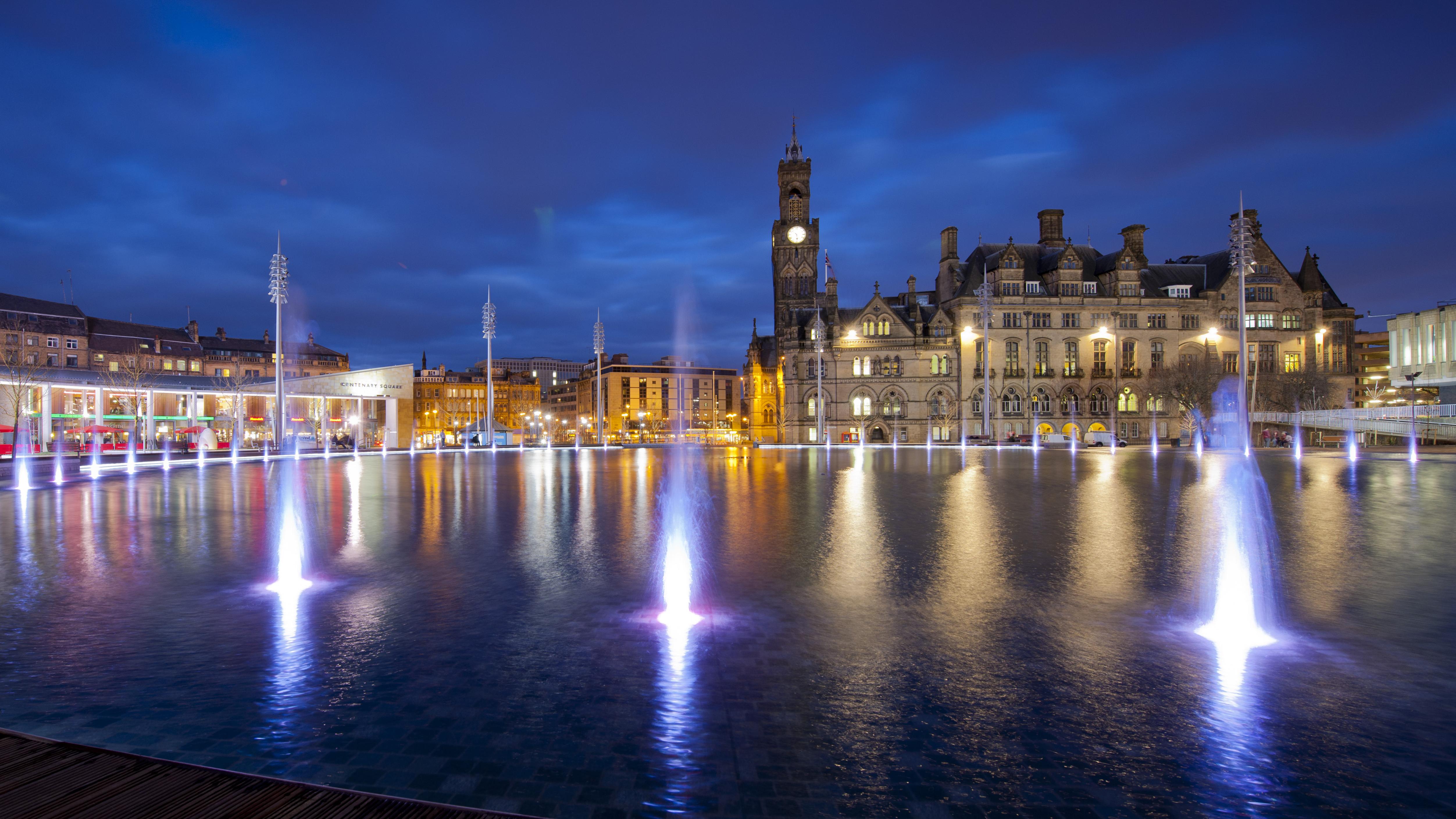 Bradford City Park Mirror Pool