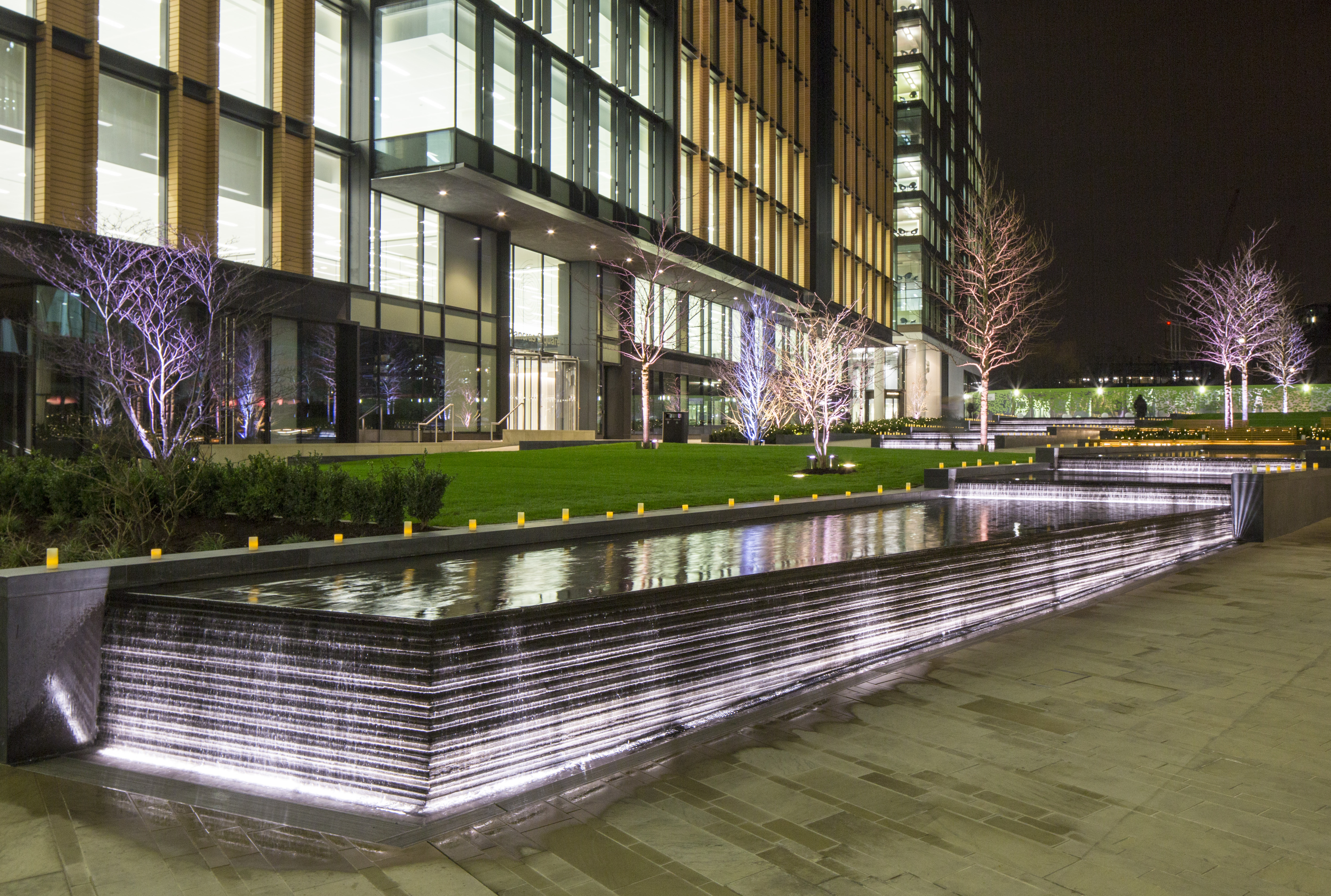 Pancras Square Water Feature The Fountain Workshop