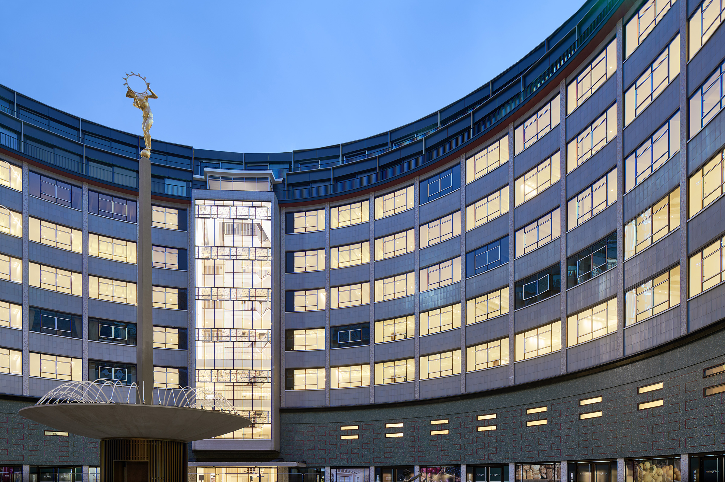 Helios Fountain, Television Centre by The Fountain Workshop